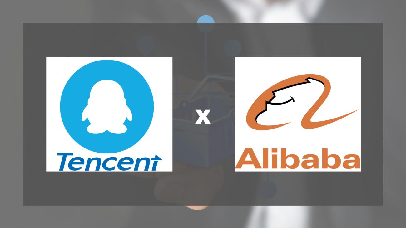 Penguin tencent logo from dwglogo Alibaba and Tencent logo from worldvectorlogo